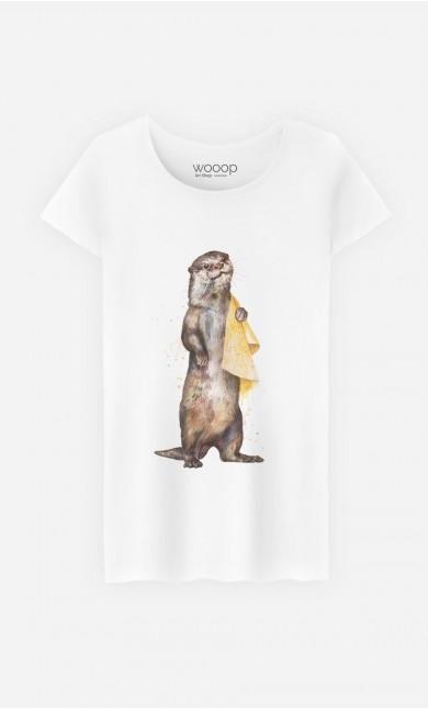 T-Shirt Femme Otter