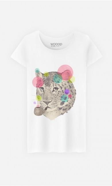 T-Shirt Femme Leopard