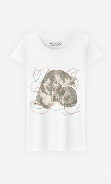 T-Shirt Sleeping Cats