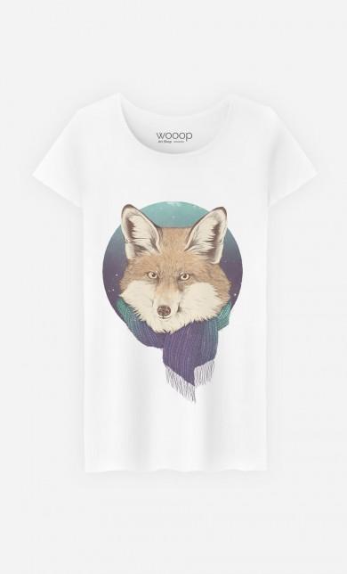 T-Shirt Winter Fox