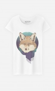 T-Shirt Femme Winter Fox