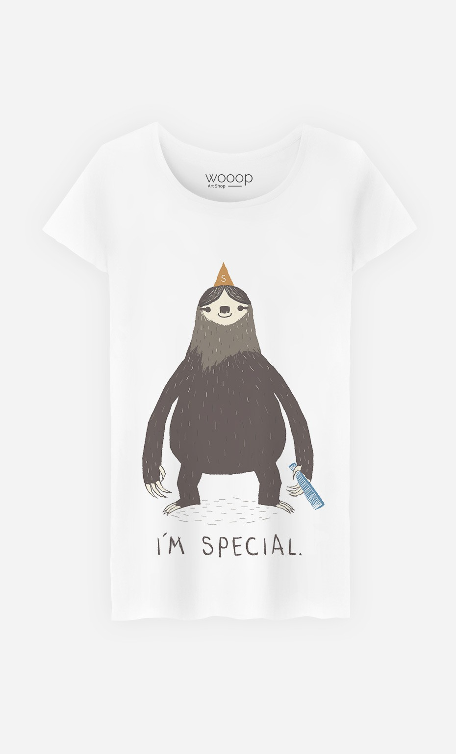 T-Shirt Femme Sloth Light