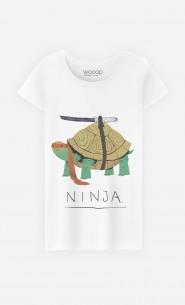 T-Shirt Femme Ninja Turtle