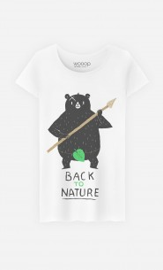 T-Shirt Femme Back to Nature