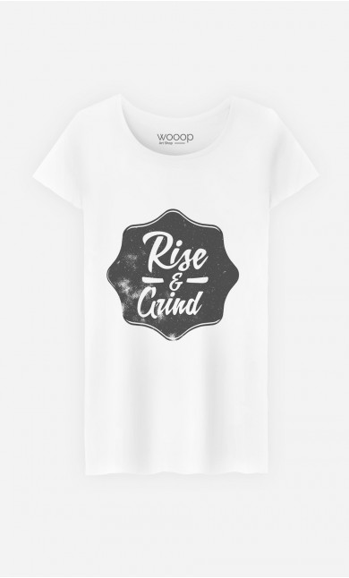 T-Shirt Femme Rise & Grind