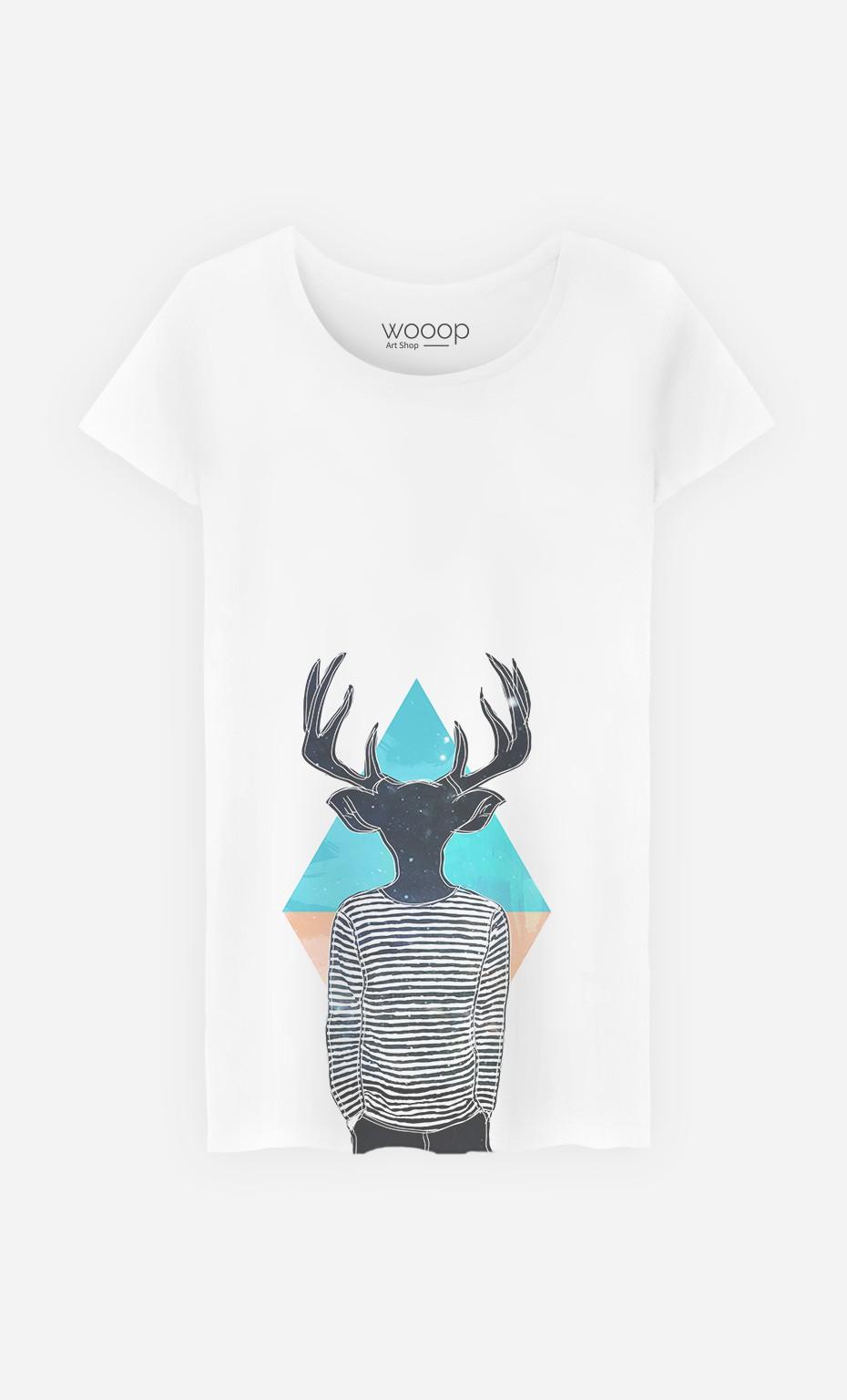T-Shirt Femme Relaxed Deer
