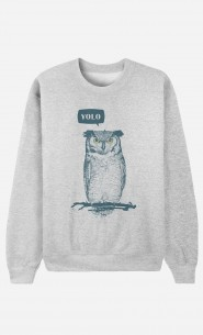 Sweat Homme Yolo Owl