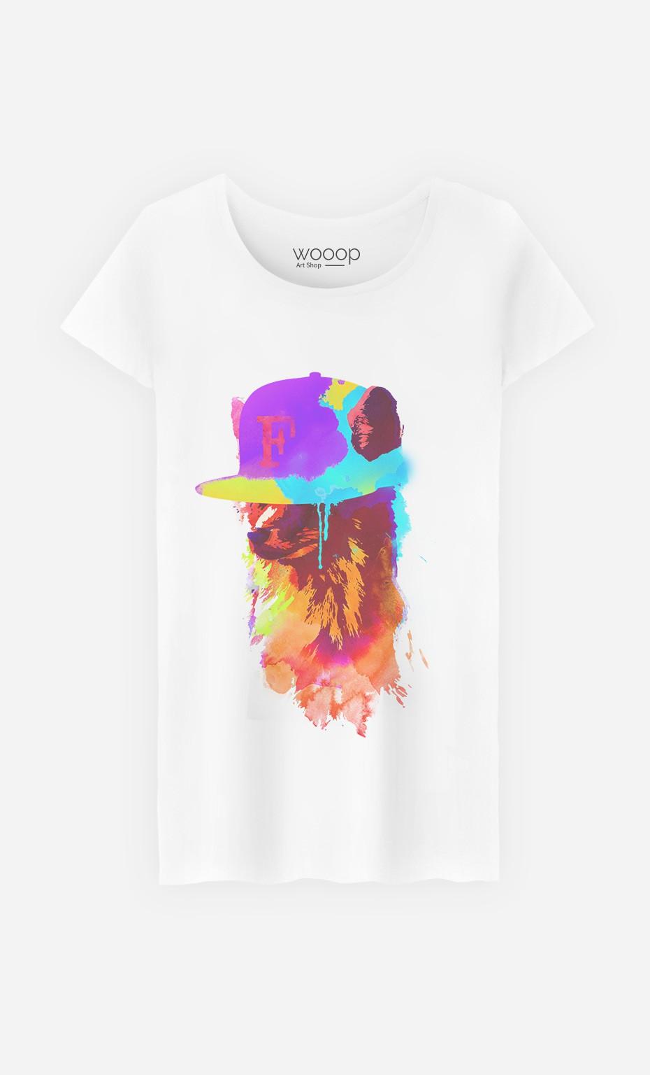 T-Shirt Femme Foxeys Favorite
