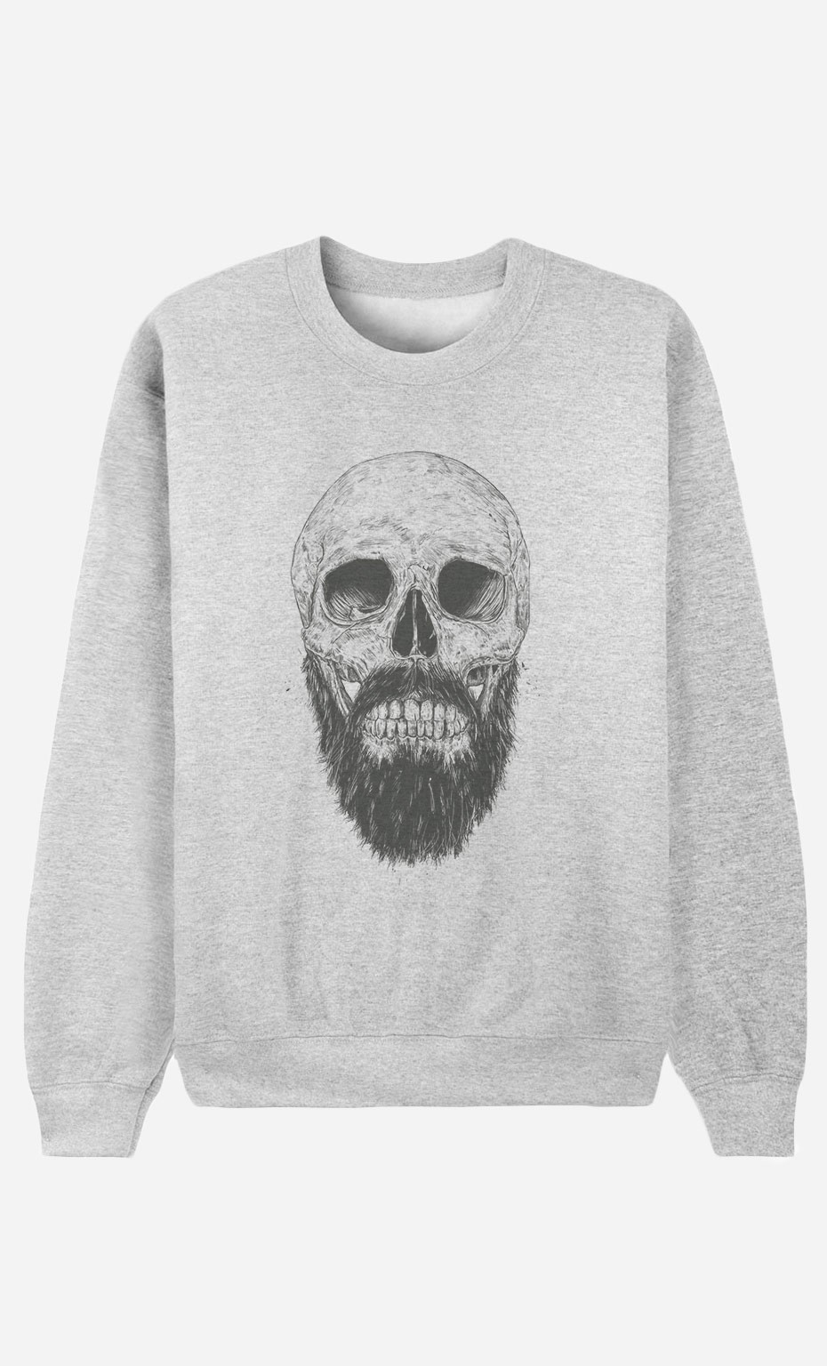 Sweat Homme Hipster Barbe