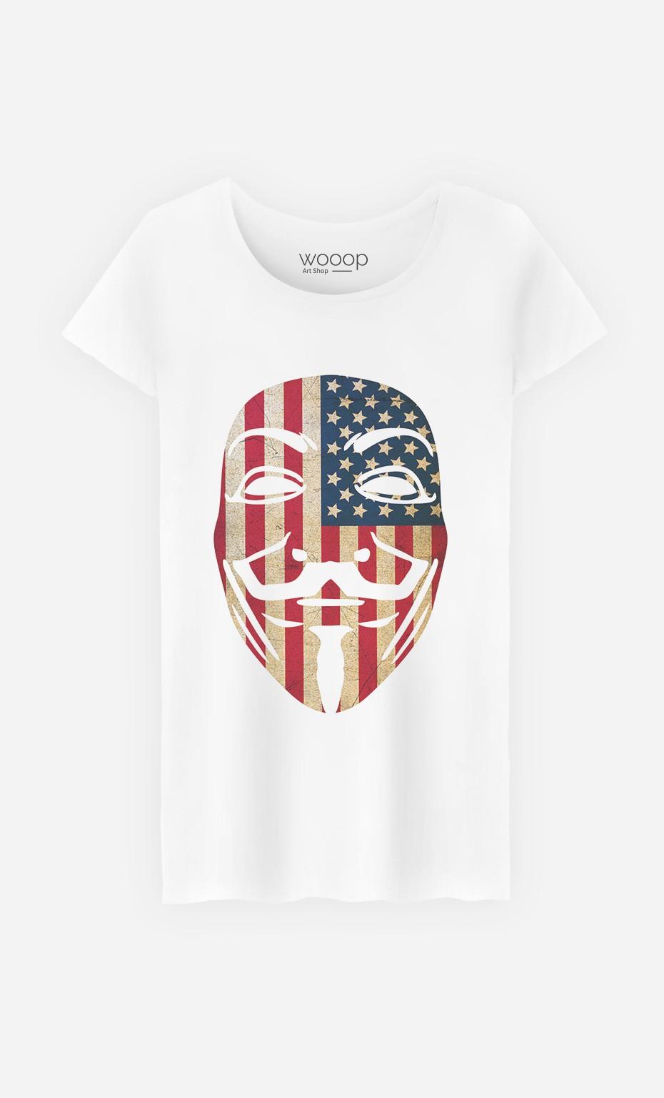T-Shirt Femme Anonymous