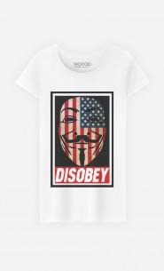 T-Shirt Femme Disobey
