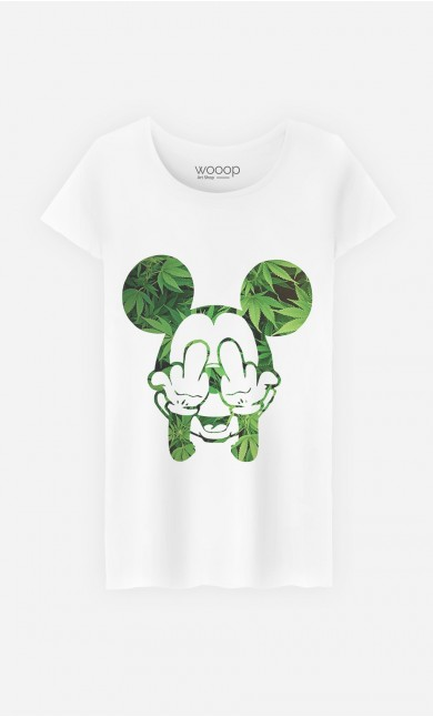 "T-Shirt Décalé ""Fuck & Smoke"""