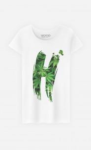 T-Shirt Femme Haschich