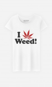 T-Shirt Femme Love Weed