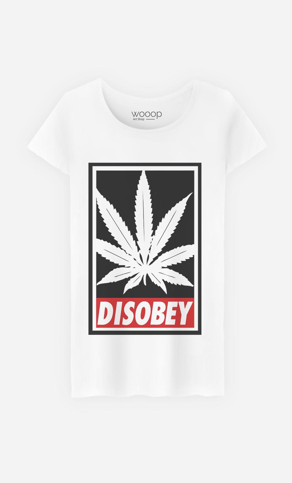 T-Shirt Femme Weed