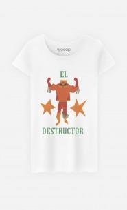 T-Shirt Femme Luchador