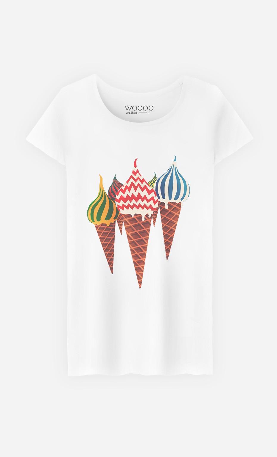 T-Shirt Femme Moscow