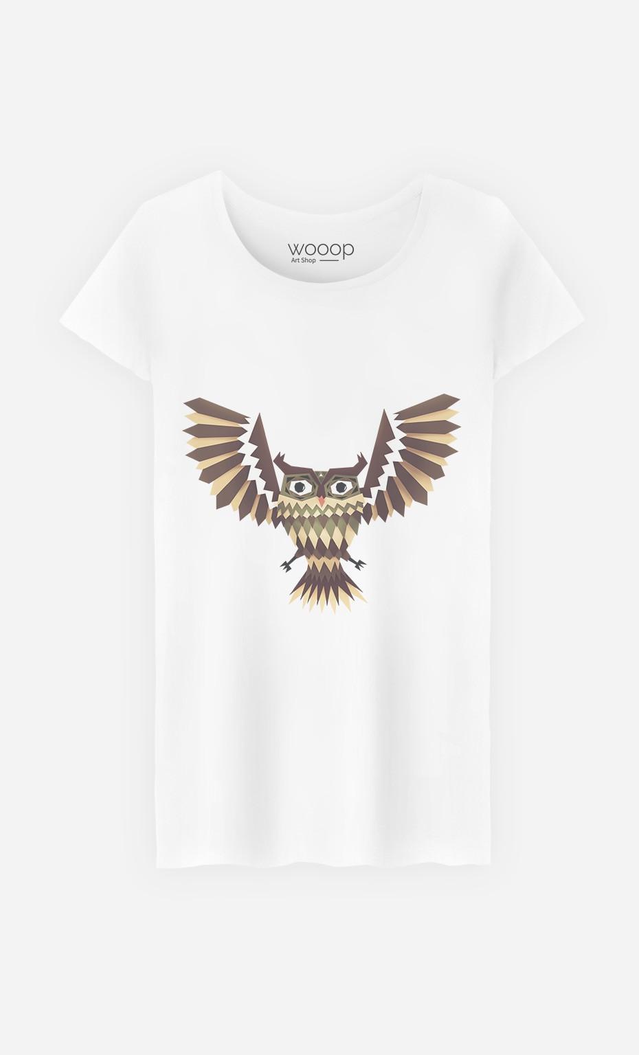 T-Shirt Femme Owl