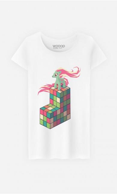 T-Shirt Femme Pony Rubik