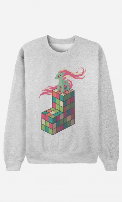 Sweat Homme Pony Rubik