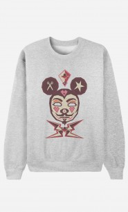 Sweat Homme Mickey Fawkes