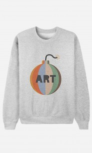 Sweat Homme Art Bomb