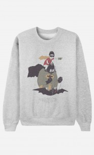 Sweat Homme Batman & Robin