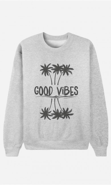 Sweat Homme Good Vibes