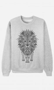 Sweat Homme Lion Black