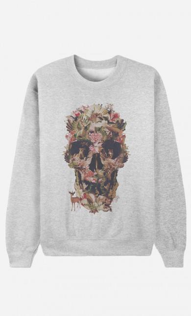 Sweater Jungle Skull