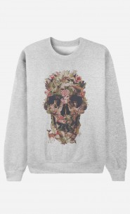 Sweat Femme Jungle Skull
