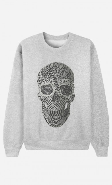 Sweater Lace Skull