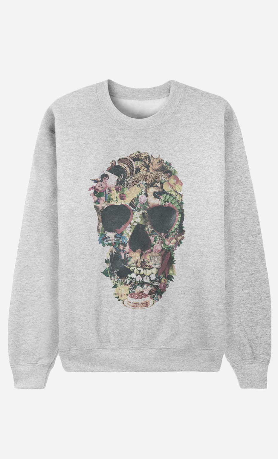 Sweat Femme Vintage Skull
