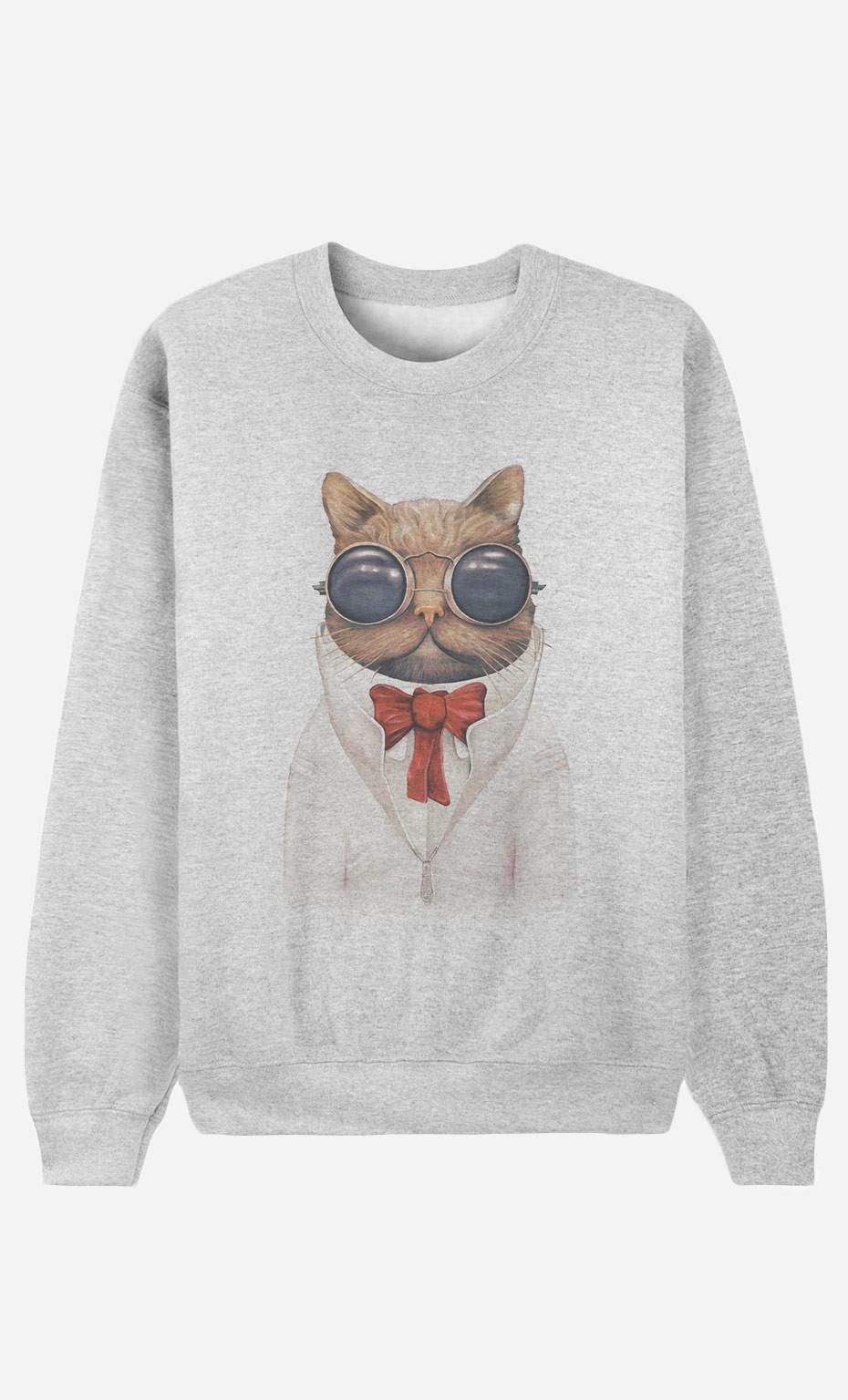 Sweat Femme Astro Cat