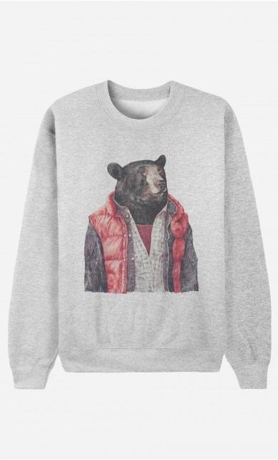 Sweat Femme Black Bear