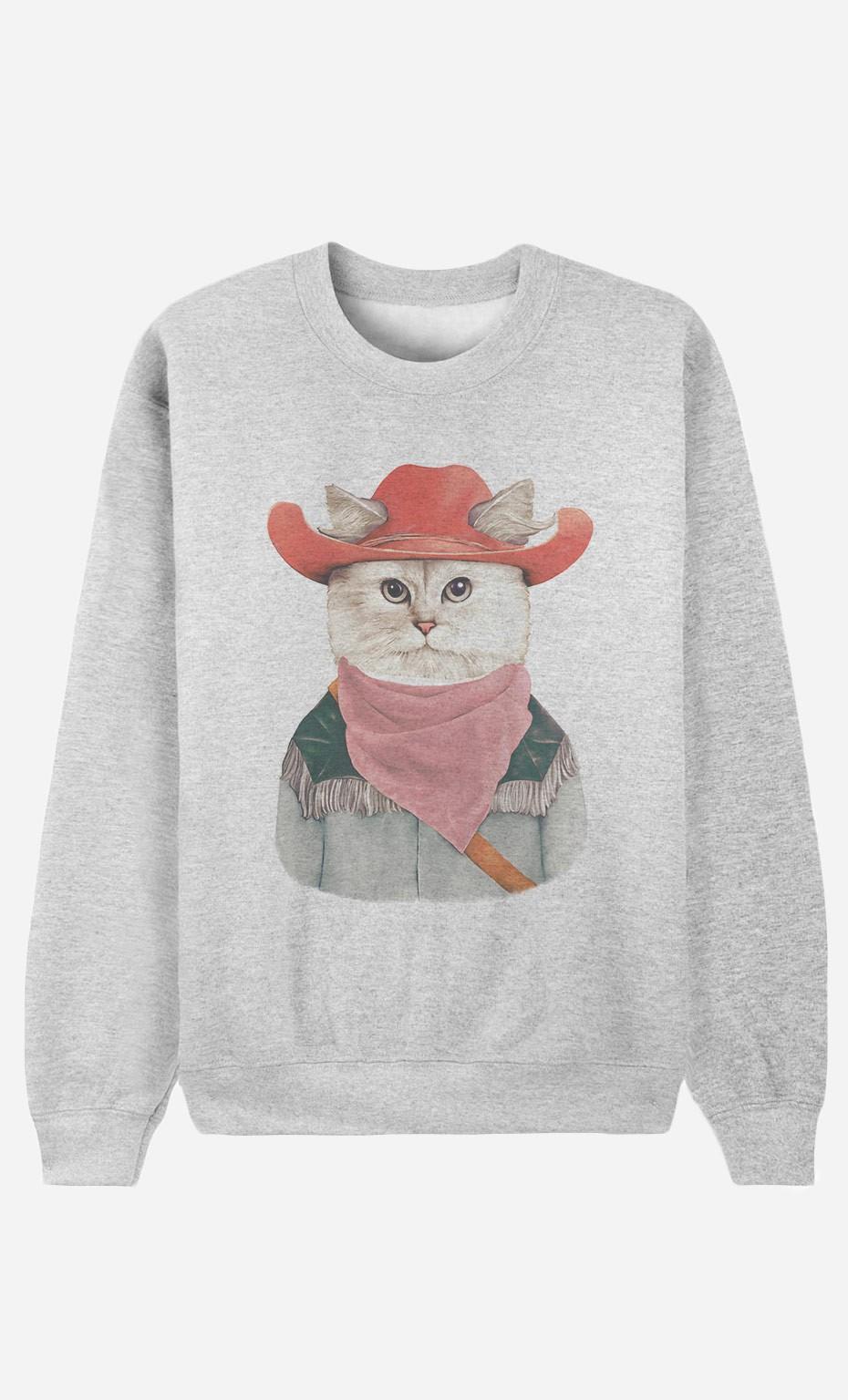 Sweat Femme Rodeo Cat