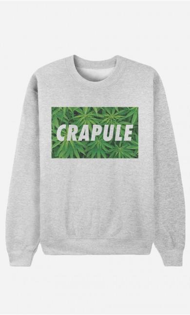 Sweat Femme Crapule Weed