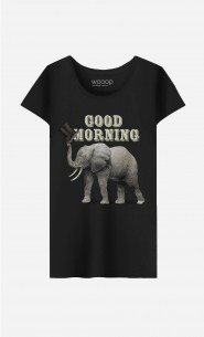 T-Shirt Femme Good Morning