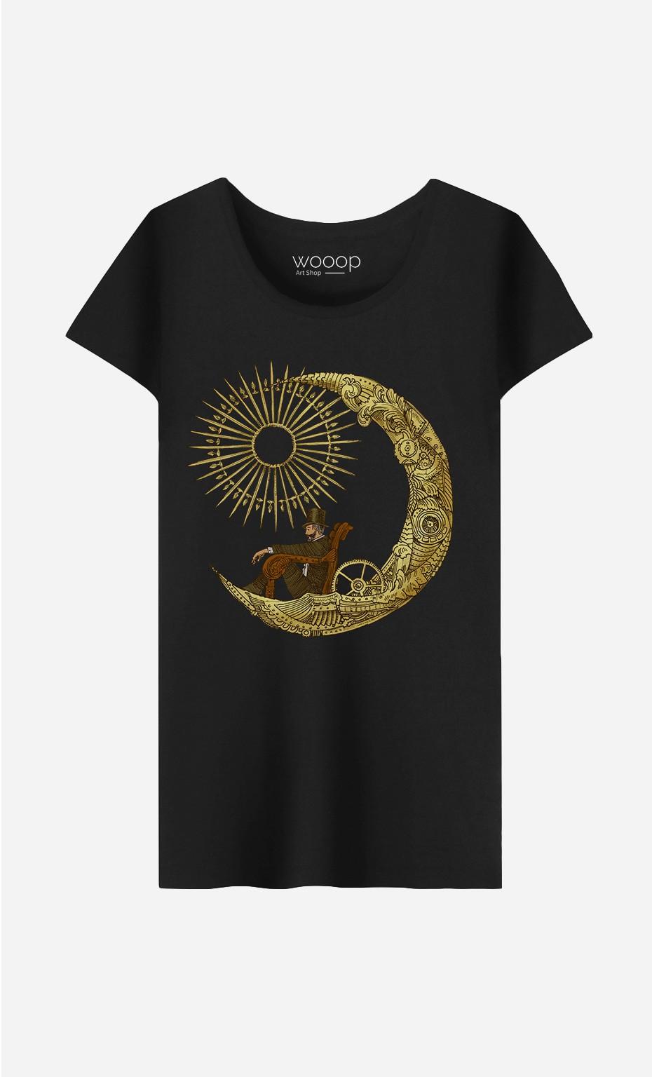 T-Shirt Femme Moon Travel
