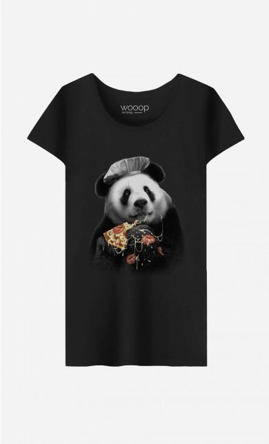 T-Shirt Panda Pizza