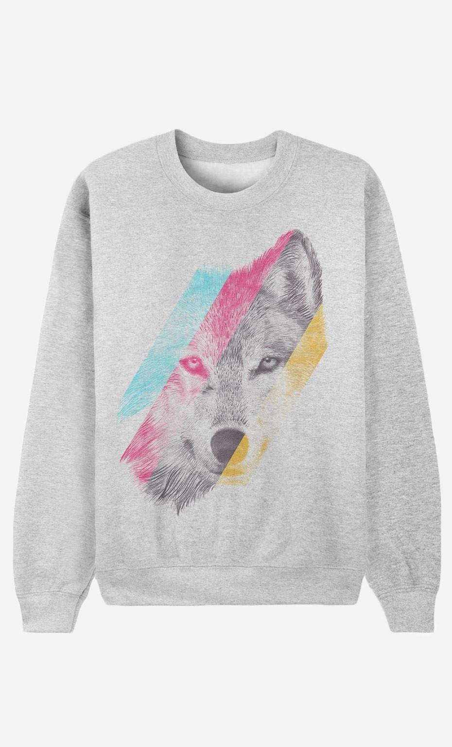 Sweat Femme Wild Wolf