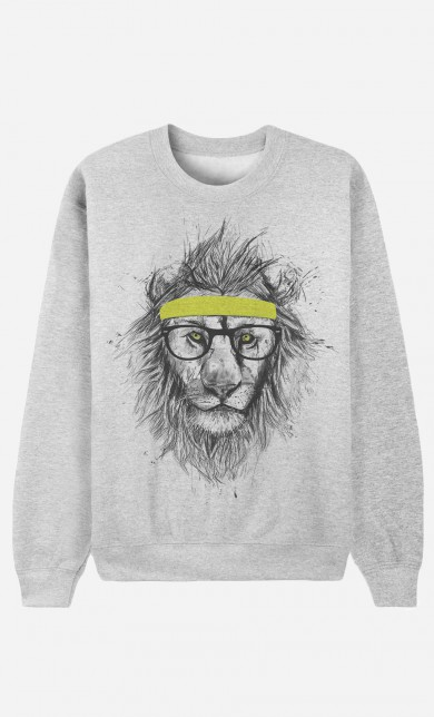 Sweat Hipster Lion