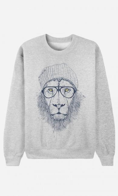 "Sweater Original ""Cool Lion"""