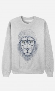 Sweat Femme Original Cool Lion