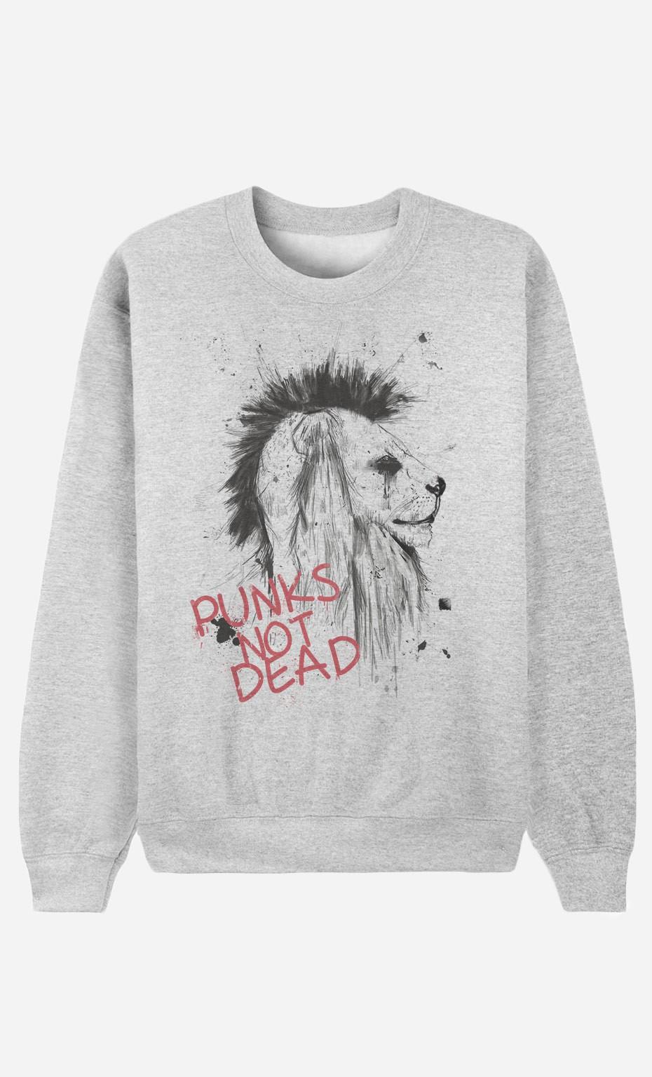 Sweat Femme Punk's Not Dead