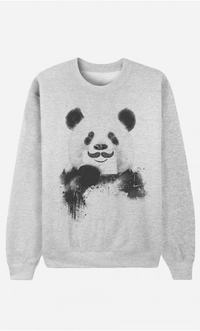 Sweat Femme Funny Panda