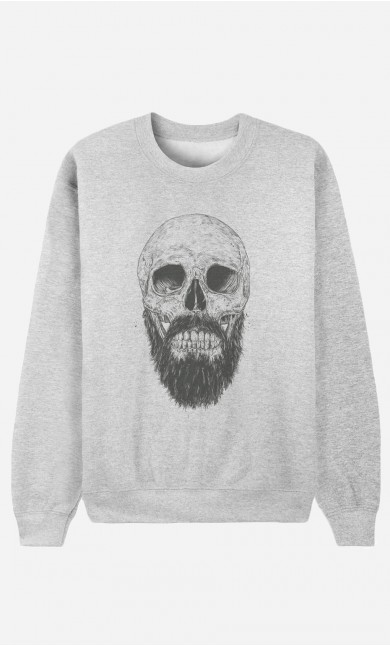 Sweat Femme Hipster Barbe