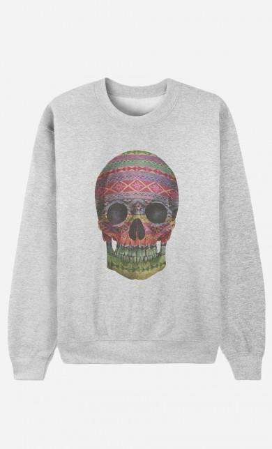 Sweat Navajo Skull