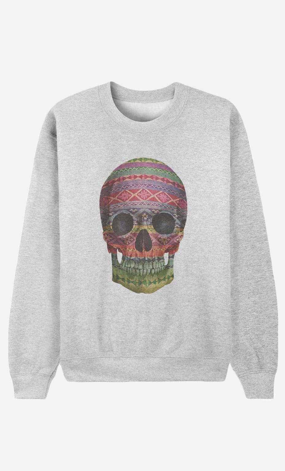 Sweat Femme Navajo Skull