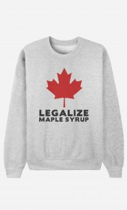 Sweat Femme Canada Legalized